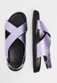 myMo - Sandalias - purple metallic - 2