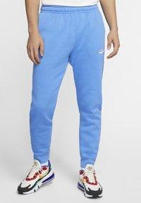 Nike Sportswear - CLUB - Pantaloni sportivi - pacific blue/white - 3