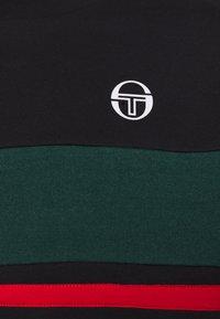 sergio tacchini - BOSTON SWEATER - Sweatshirt - black/botanical - 2
