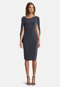 Vera Mont - Cocktail dress / Party dress - dark blue/silver - 0