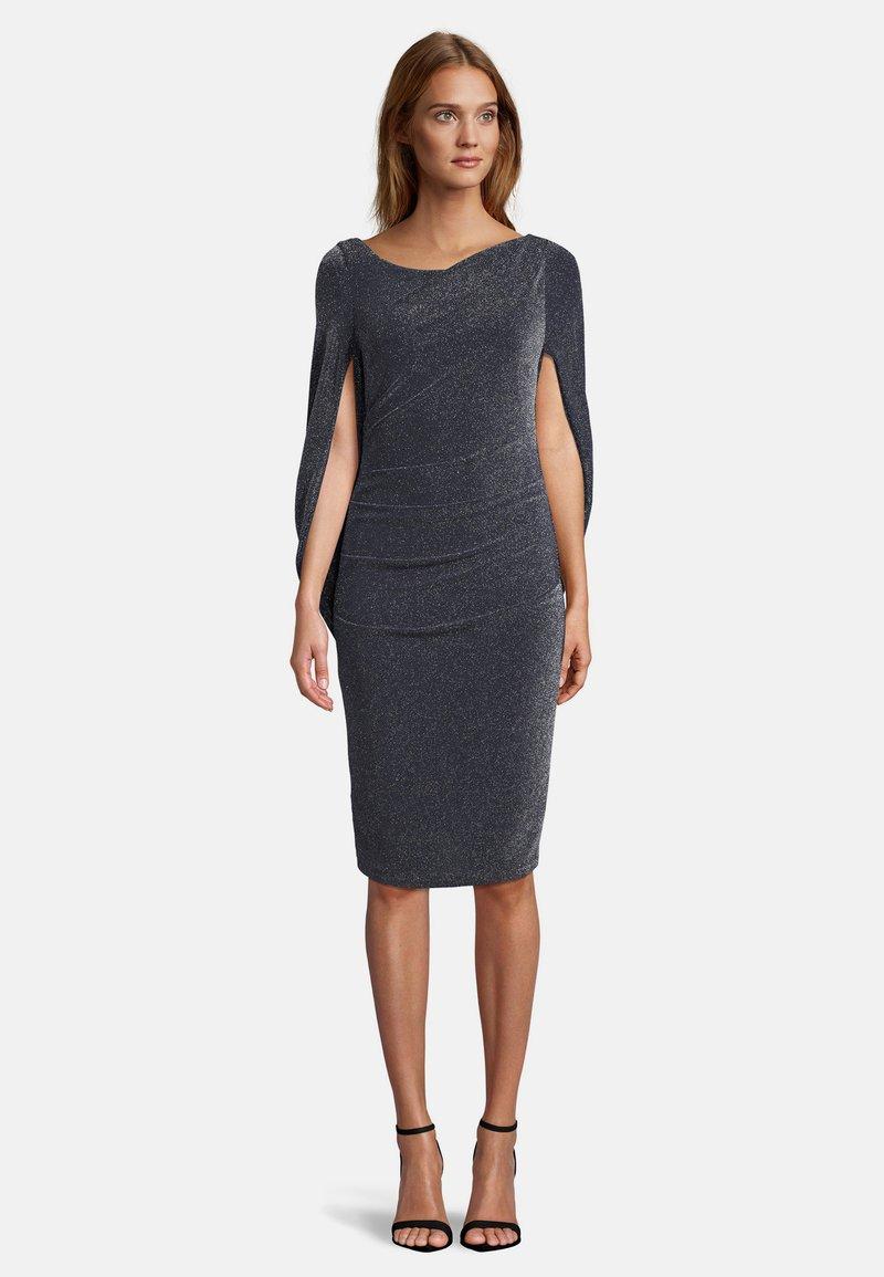 Vera Mont - Cocktail dress / Party dress - dark blue/silver