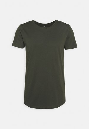 SHAPED TEE - Basic T-shirt - serpico green