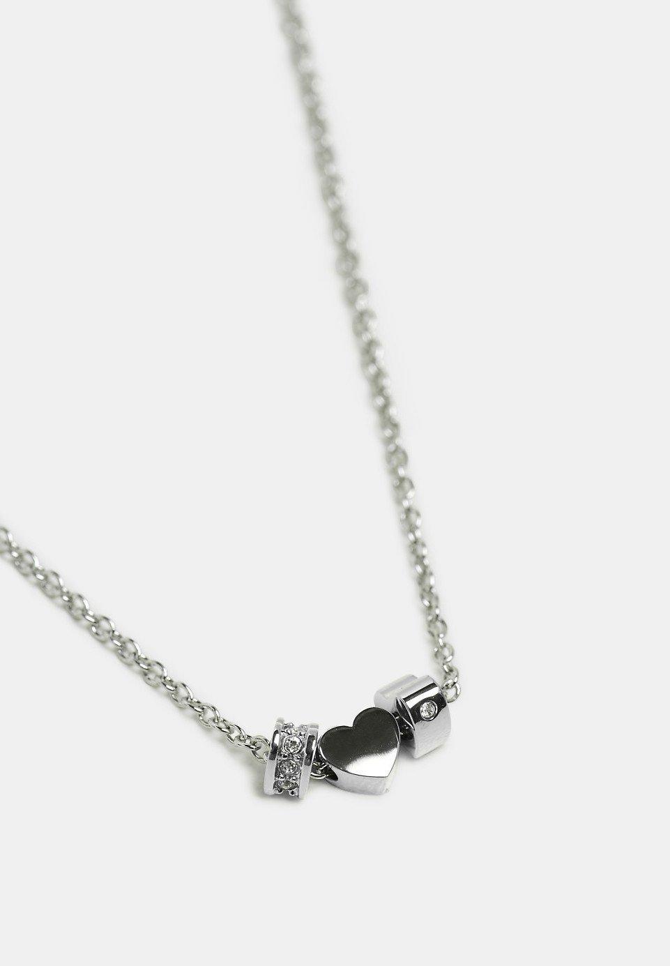 Esprit Halskette - Silver-coloured/silberfarben