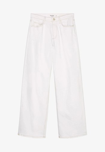 TOMMA - Bootcut jeans - multi soft off-white