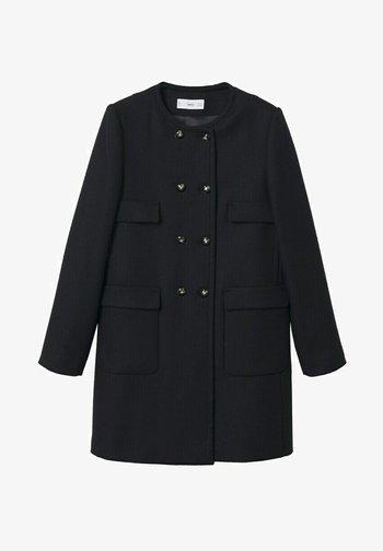 Short coat - zwart