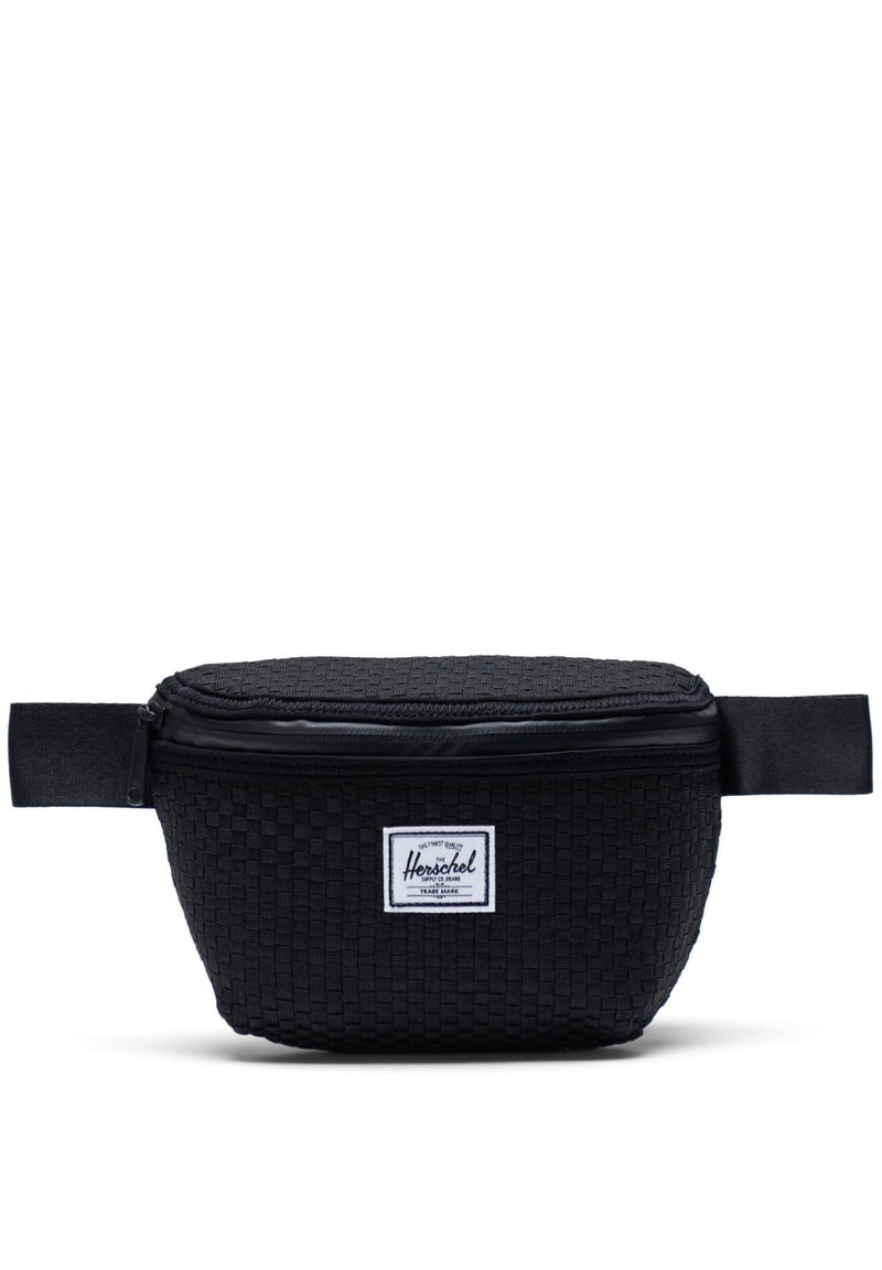 Herschel - WOVEN FOURTEEN GÜRTELTASCHE - Bum bag - black