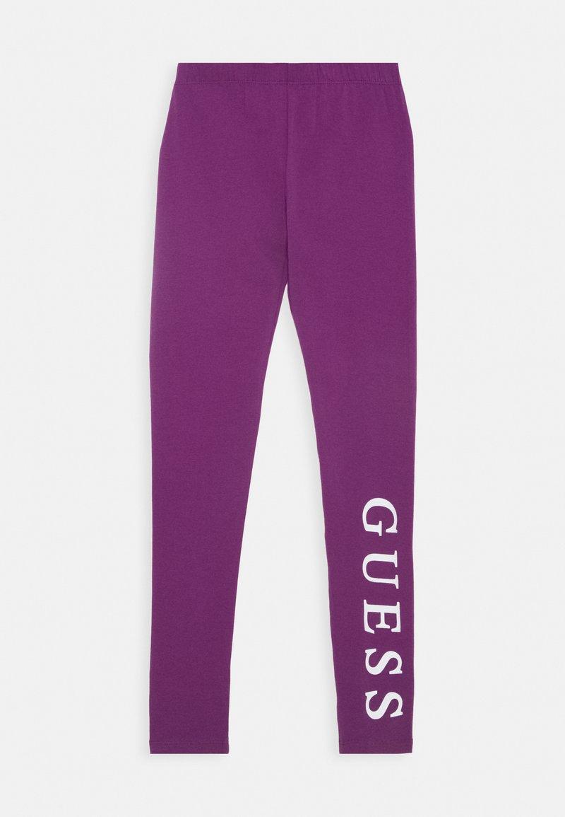 Guess - JUNIOR CORE - Leggings - Trousers - new plum light