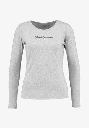 NEW VIRGINIA  - Camiseta de manga larga - grey marl