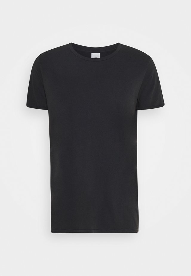 ZACH - Basic T-shirt - black