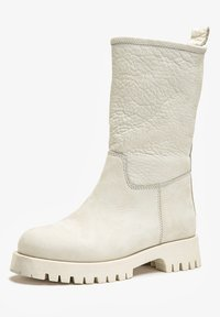 Inuovo - Platform ankle boots - nb bone - 5