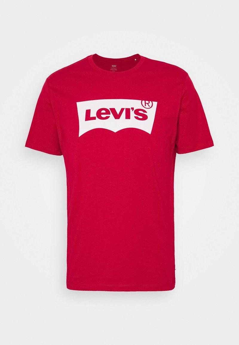 Levi's® - GRAPHIC IN NECK - Print T-shirt - crimson