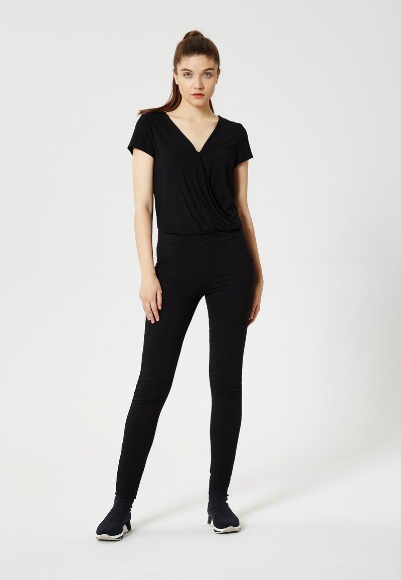 Talence - T-shirt con stampa - noir