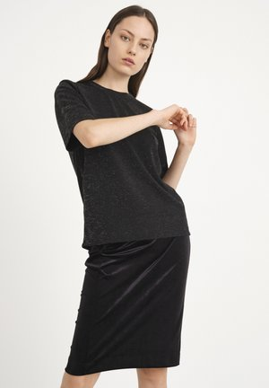 ORIELIW - Pencil skirt - black