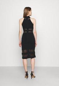 Hervé Léger - HERVE LEGER X JULIA RESTOIN ROITFELD HALTER COLUMN DRESS - Cocktail dress / Party dress - black - 2