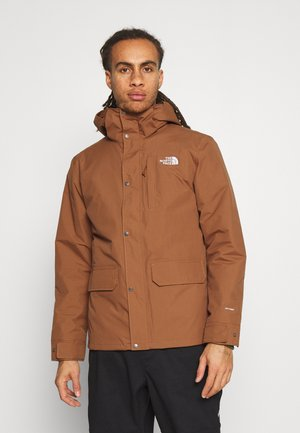 PINECROFT TRICLIMATE JACKET 2-IN-1 - Blouson - pinecone brown/thyme brushwood