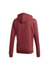 adidas Performance - BADGE OF SPORT FRENCH TERRY HOODIE - Jersey con capucha - red - 8