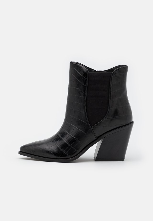 WIDE FIT AVENS - Classic ankle boots - black