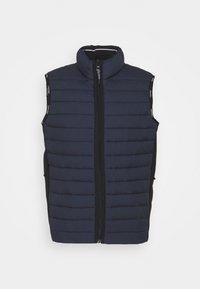Calvin Klein - CRINKLE VEST - Waistcoat - blue - 0