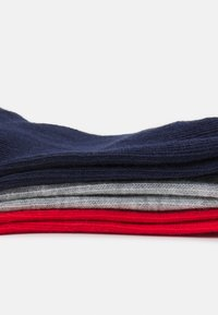 Puma - INVISIBLE 6 PACK UNISEX - Socks - white/blue/red - 1