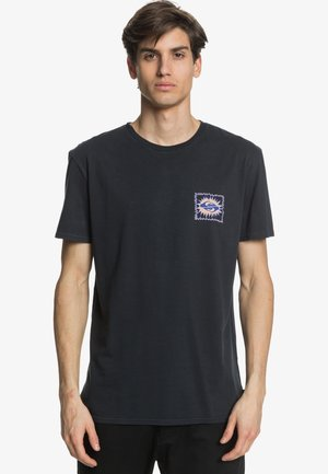 QUIET TEMPLE - Print T-shirt - black