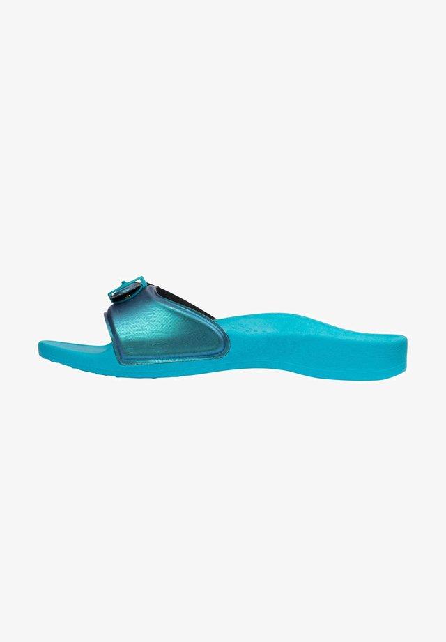 Badslippers - azurblau