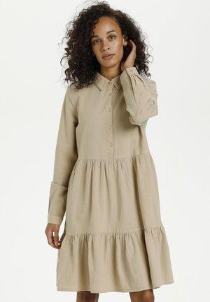 KANAYA - Shirt dress - classic sand