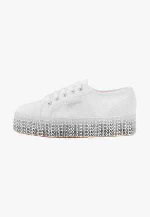 2790 MINILETTERING - Sneakers basse - white/black