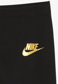 Nike Sportswear - FAVORITES AIR - Leggings - black/metallic gold - 3