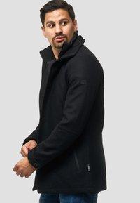 INDICODE JEANS - MÄNTEL BRITTANY - Light jacket - black - 3