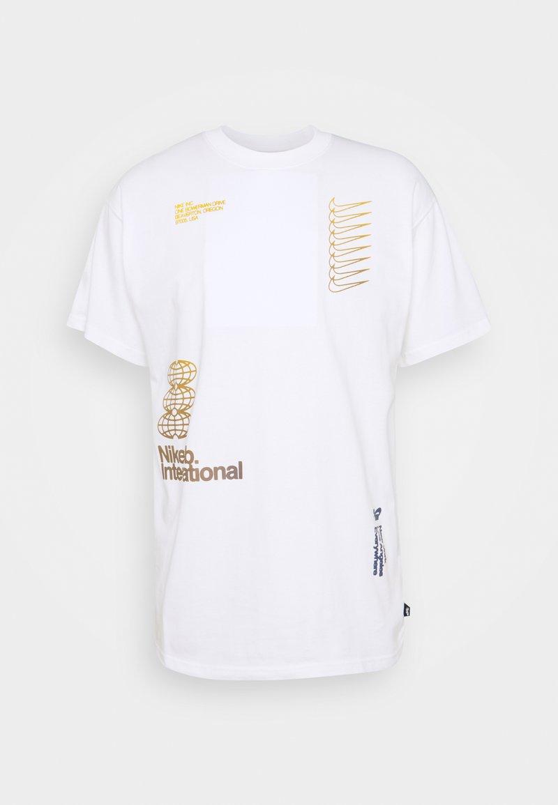 Nike SB - TEE INTERNATIONAL UNISEX - Print T-shirt - white