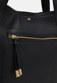 Anna Field - LEATHER - Handbag - black - 3