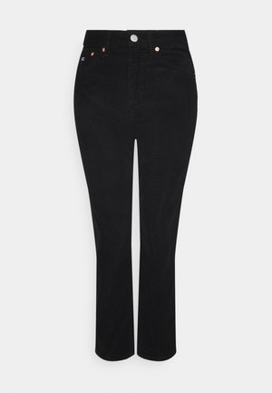 HARPER STRAIGHT ANKLE - Trousers - black