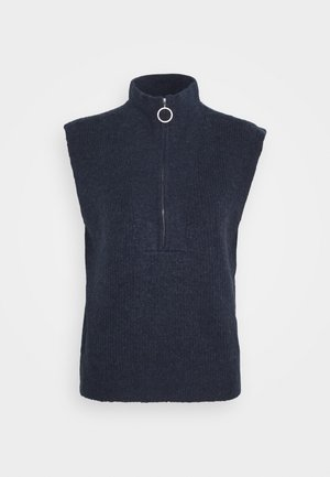 NMBATISTA ZIP VEST - Jumper - night sky