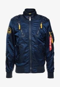 Alpha Industries - Bomber Jacket - repl. blue - 5