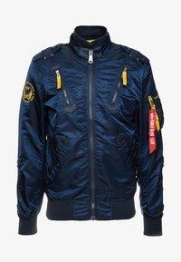 Bomber Jacket - repl. blue