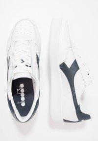 Diadora - B.ELITE - Trainers - white/blue denim - 1