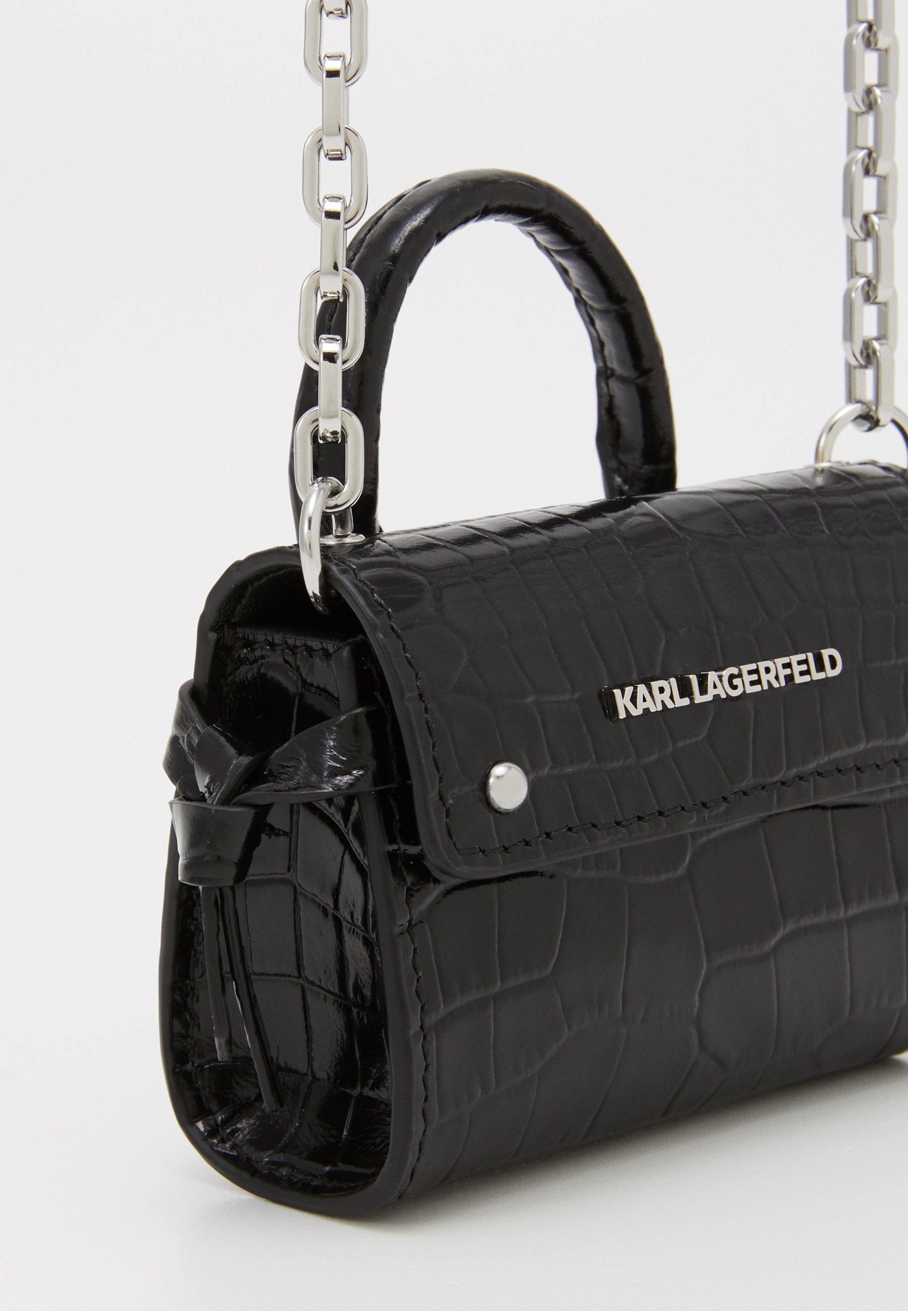 Karl Lagerfeld Ikon Nano Top Handle - Umhängetasche Black/schwarz