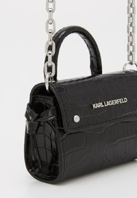 KARL LAGERFELD - IKON NANO TOP HANDLE - Sac bandoulière - black - 3