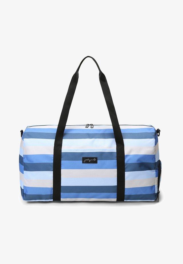 JADYN  - Sac week-end - blue stripe