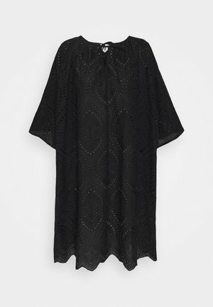 BLOUSE - Tuniek - black dark