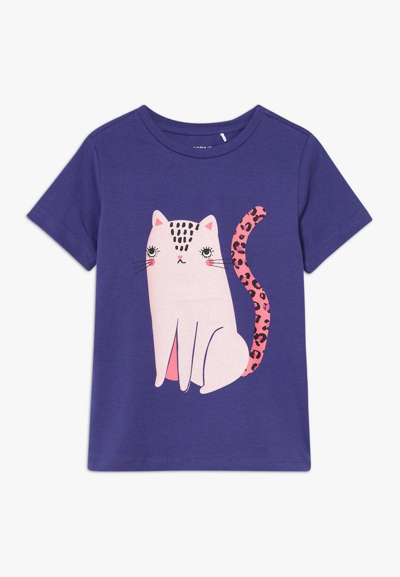 Name it - NKFDIVI  - Print T-shirt - navy blue
