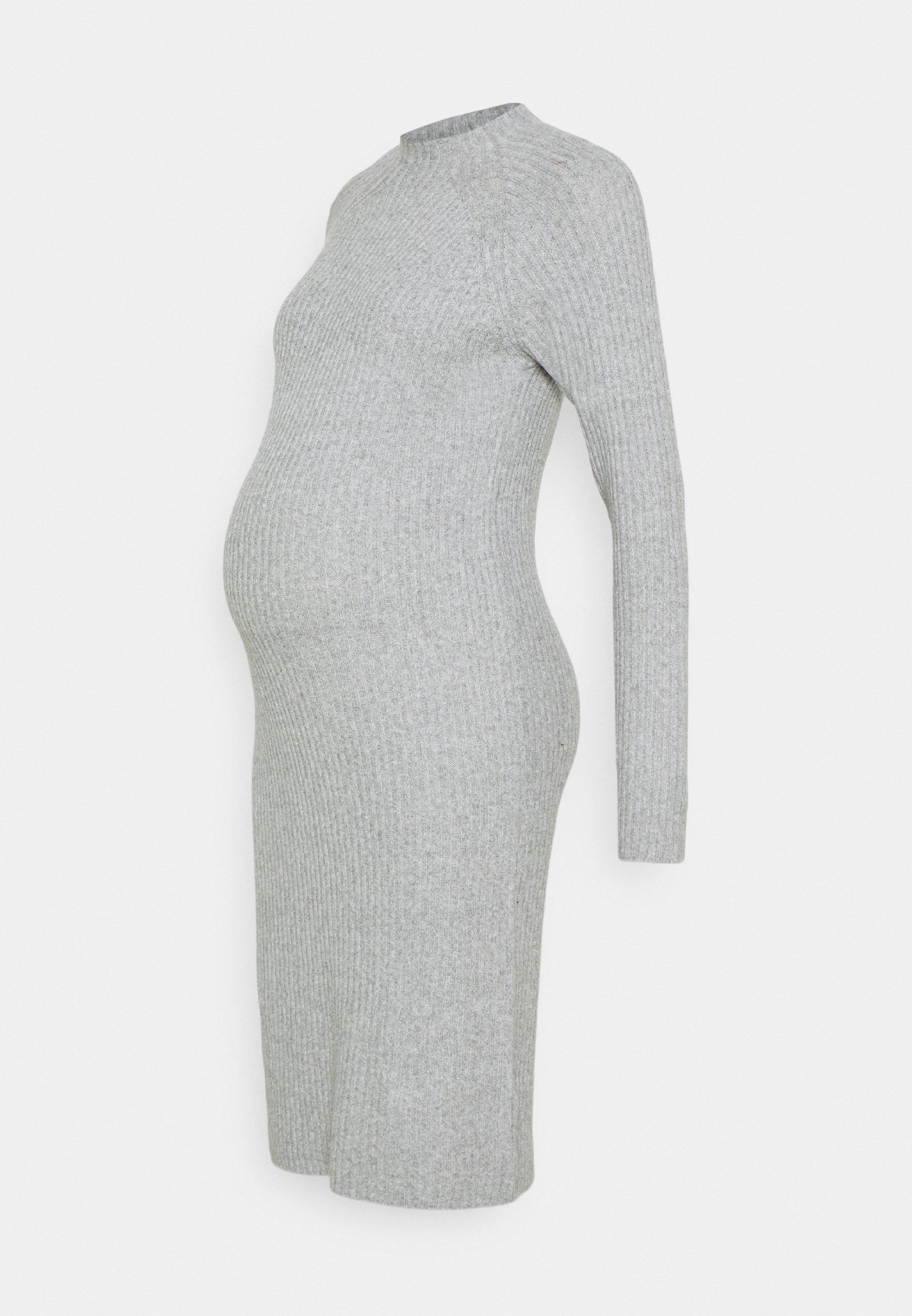 Women PCMDISA MOCK NECK DRESS - Jumper dress