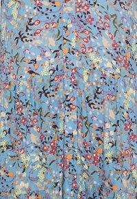 YAS Tall - YASSANTOS LONG SHIRT DRESS - Maxi dress - dusk blue/santos print - 2