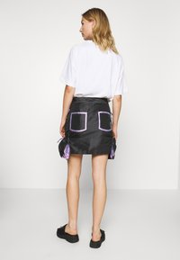 The Ragged Priest - SKIRT GUSSETS - Minihame - black/purple - 2