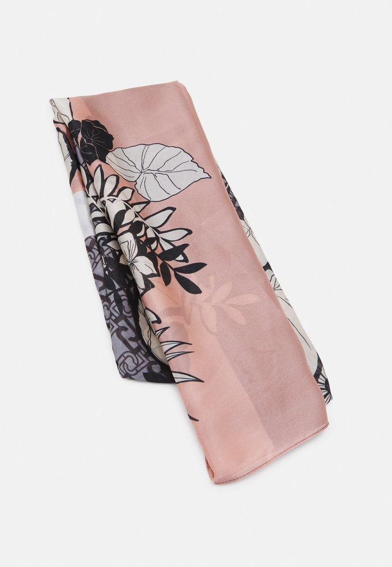 LIU JO - STOLA TROPICAL BLOCK - Foulard - nero