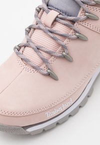 Timberland - EURO SPRINT - Bottines à lacets - light pink - 5