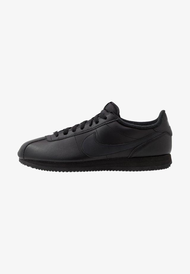 CORTEZ BASIC - Sneakersy niskie - black/anthracite/white