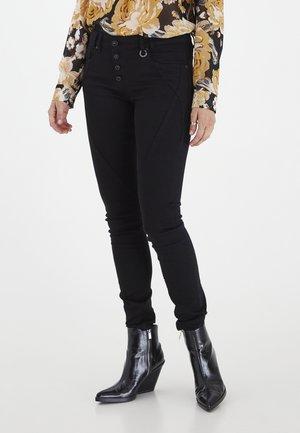PZANNA  - Jeans Skinny Fit - black denim