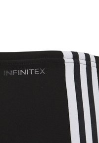adidas Performance - FIT 3 STRIPES PRIMEBLUE SWIM REGULAR JAMMER - Zwemshorts - black/white - 3