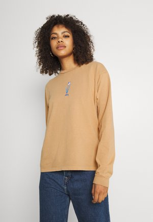 TULIP - Long sleeved top - light toffee